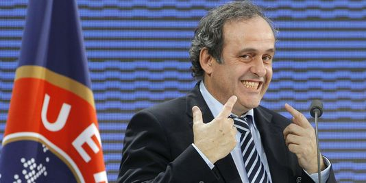 Platini is happy. Are you?