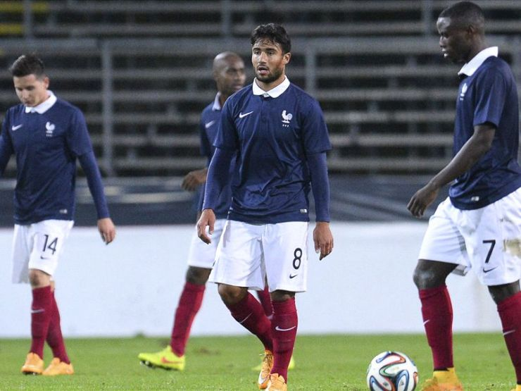 Fekir had already represented France at U21 level and was recently called up to play Brazil