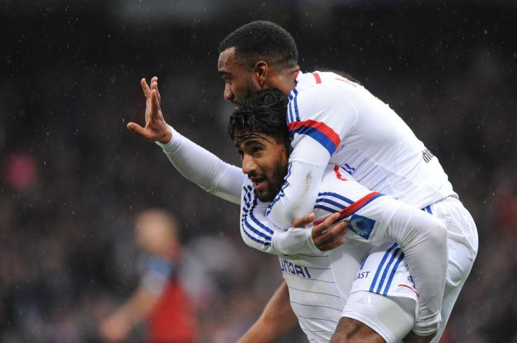 Lacazette and Fekir - I'll never let go