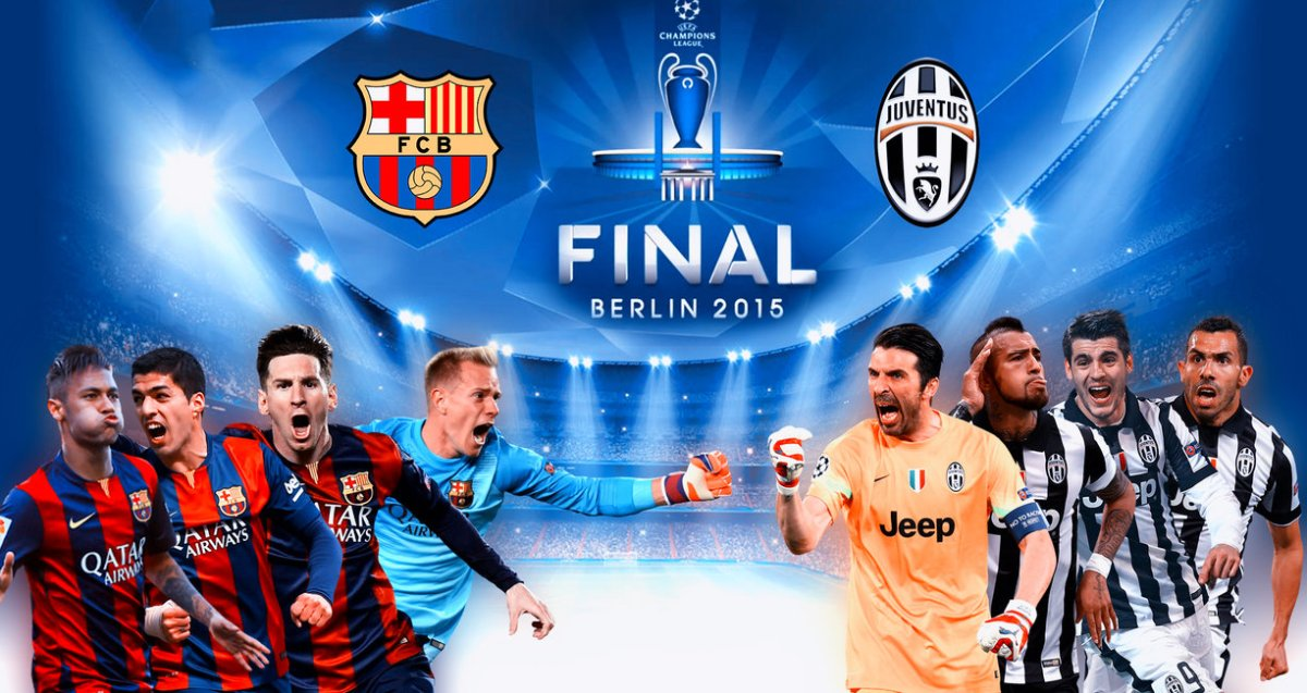 Juventus vs Barcelona - Champions League final preview